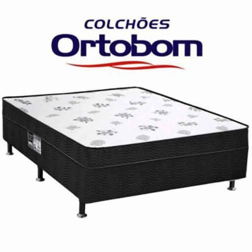 Cama Box Casal Conjugado Ortobom Molas 138x188x44