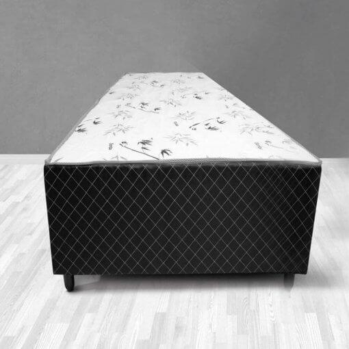 Cama Box de Solteiro Conjugada Espuma Ortopédica Unibox 88×18