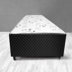 Cama Box de Solteiro Conjugada Espuma Ortopedica Unibox 88x188