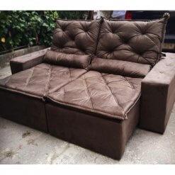 Sofa Retratil e Reclinavel Rio de Janeiro Foto Real