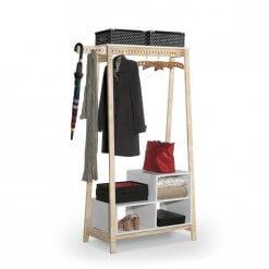 Closet Modulado Milao com Nicho Tebarrot Branco