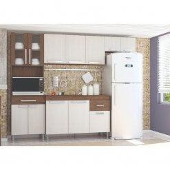 Cozinha Completa 5 Pecas 12 Portas 1 Gaveta Brasil Indekes