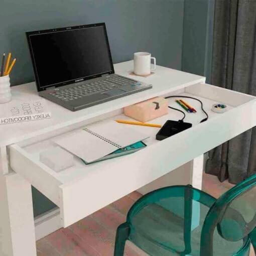 Escrivaninha Alice Multiuso 1 Gaveta Minas Plac