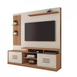 Estante Home Para Tv Ate 60 Polegadas Samba JCM Naturale