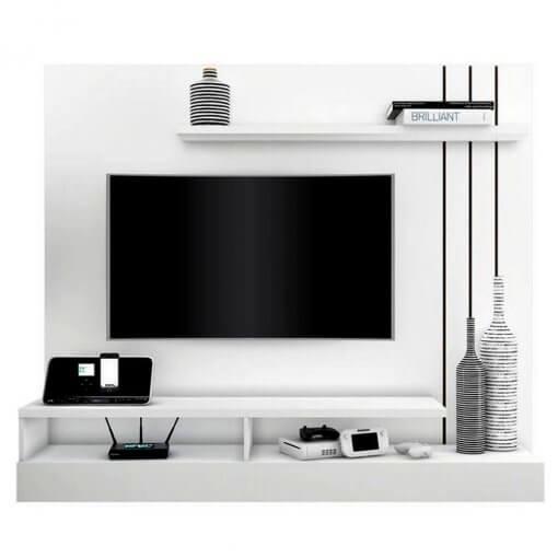 Home Suspenso Zeus para TV ate 50 polegadas Borsari Branco