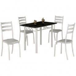Mesa Laura Com Tampo Granito E 4 cadeiras Medida 100×60