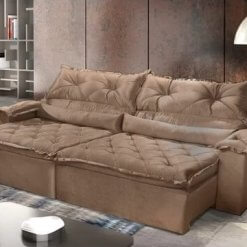 Sofa-Retratil-Reclinavel-Agatha-Montano-4-Lugares-Caramelo-Ambiente
