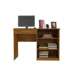 Mesa Escrivaninha Para Estudo Link Benetil Moveis aberta