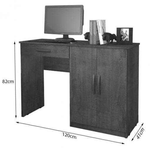 Mesa Escrivaninha Para Estudo Link Benetil Moveis medidas