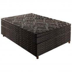 Cama Box Casal com Colchao Privilege Molas ensacadas 138cm