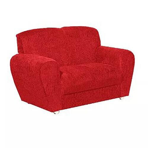 Sofa-5010-com-2-Lugares-em-Tecido-Suede-e-Encosto-Fixo-Vermelho