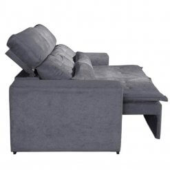 Sofa Retratil e Reclinavel Uba 195cm Lado