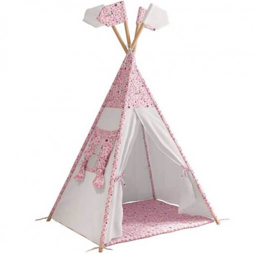 Cabana Tenda Infantil Mundo Magico e Casinha Moveis Estrela