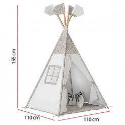 Cabana Tenda Infantil Mundo Magico e Casinha Moveis Estrela medidas