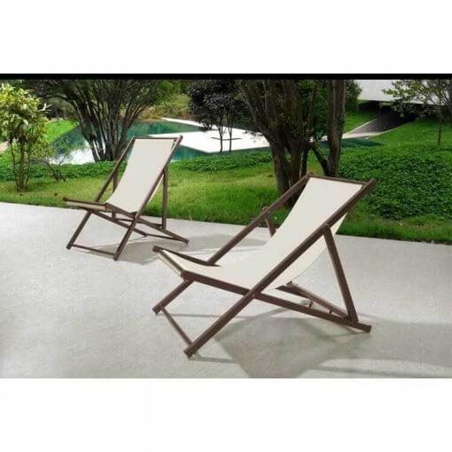Cadeira Espreguicadeira Jardim Dobravel