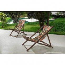 Cadeira Espreguicadeira Jardim Dobravel Ipanema