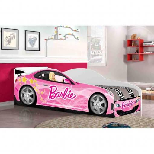 Cama Infantil Juvenil Barbie Rosa