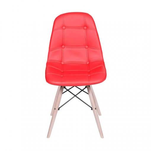 Cadeira Slim Eiffel Cod 1110 Vermelha