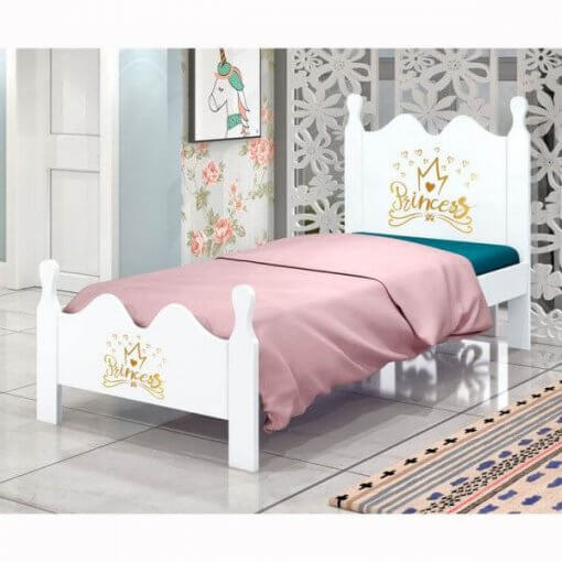 Cama Solteiro Princess Alice Luke