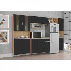 Cozinha Bulgaria 9 Portas 3 Gavetas csa