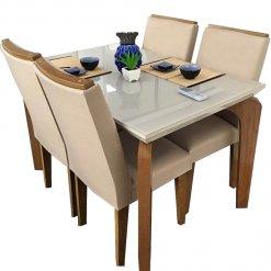 Mesa de Jantar 4 cadeiras Londrina