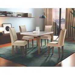 Mesa de Jantar 4 cadeiras Londrina Rufato Moveis
