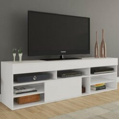 rack para tv twin branco