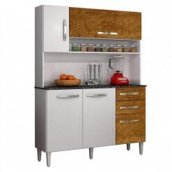 Armario de Cozinha 5 Portas Napoles Salleto Moveis