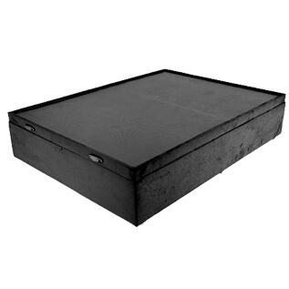 Base Cama Box Bau Casal com Borda 42x138x188