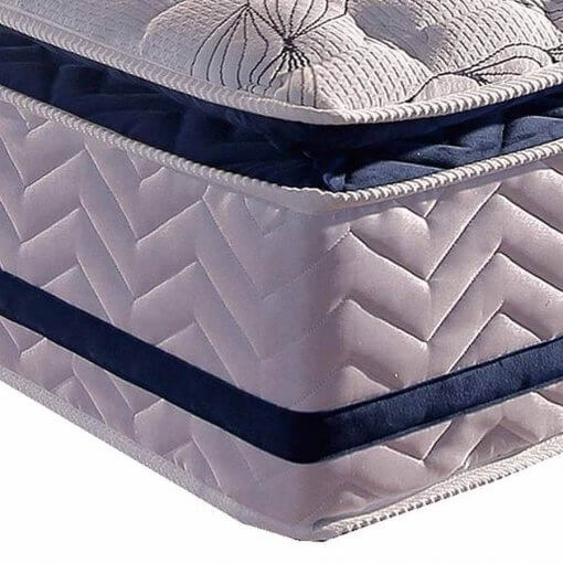 Colchao Paropas de Molas Pocket Blue com Pillow Top