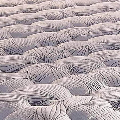 Colchão Paropas de Molas Pocket Blue com Pillow Top detalhe