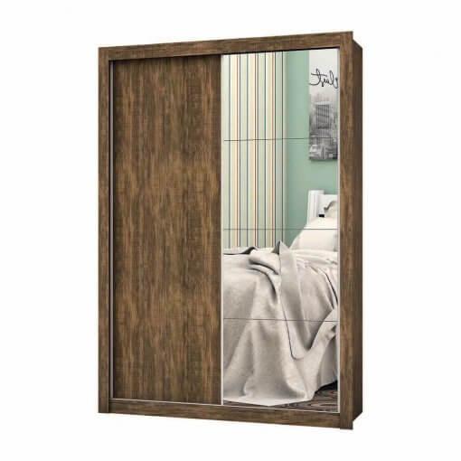 Guarda Roupa 2 Portas com Espelho Roma demolicao