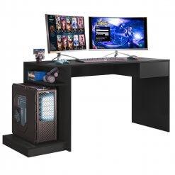 Mesa Para Computador Gamer Mobler Preta