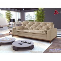 Sofa Retro Catania Bege
