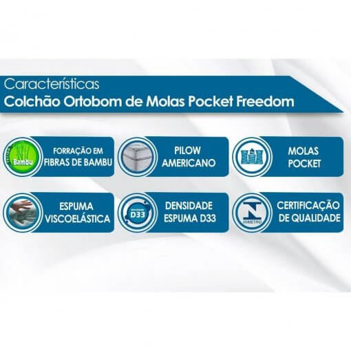 Colchao-Ortobom-SuperPocket-Freedom-Viscoelastico-Casal-138-detalhes