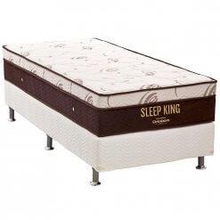 Conjunto Box Colchao Ortobom Sleep King solteiro