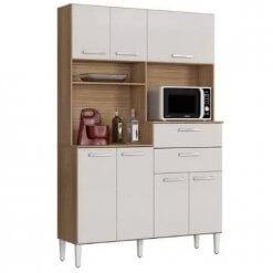 Cozinha Compacta Flavia 7 Portas e 2 Gavetas