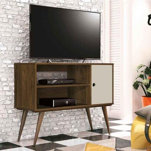 Rack Retro Realeza EDN para TV LCD Plasma ou LED