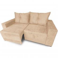 Sofa Retratil Estrela com Almofadas Soltas e Tecido Suede Camurca