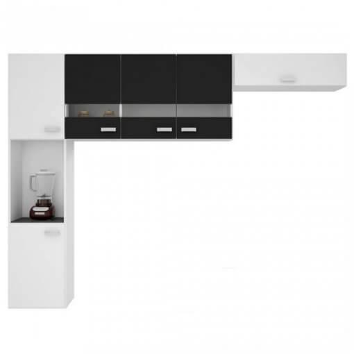 cozinha compacta 3 pecas julia branca