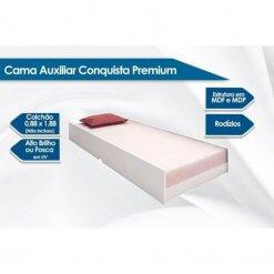 Cama Auxiliar Conquista Premium detalhes