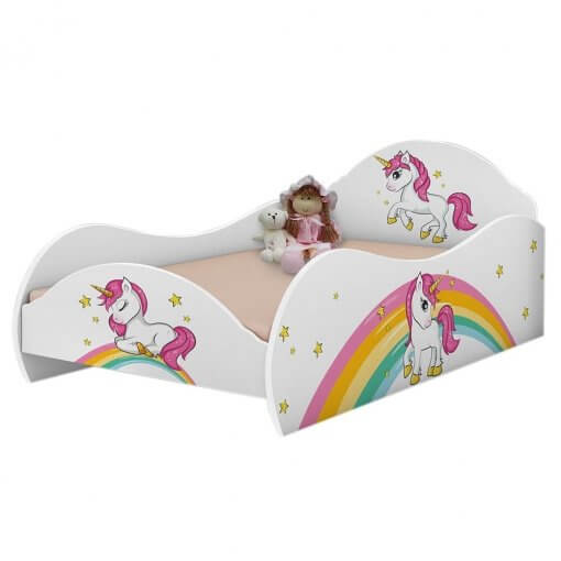 Cama Unicornio Infantil Valen Moveis