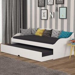 Sofa Cama com Cama Auxiliar Lais Cimol