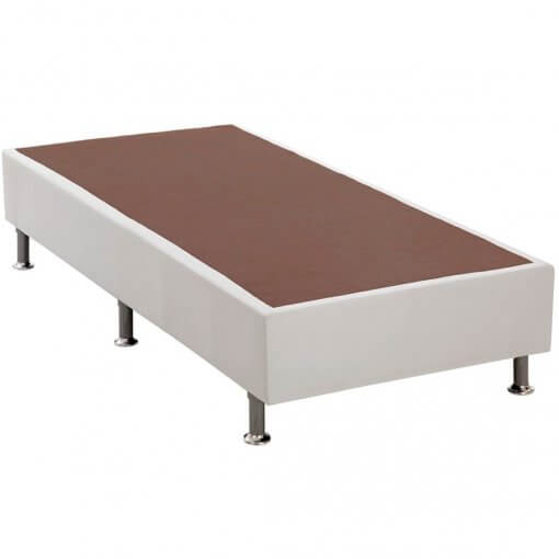 base box solteiro branca 25x88x188