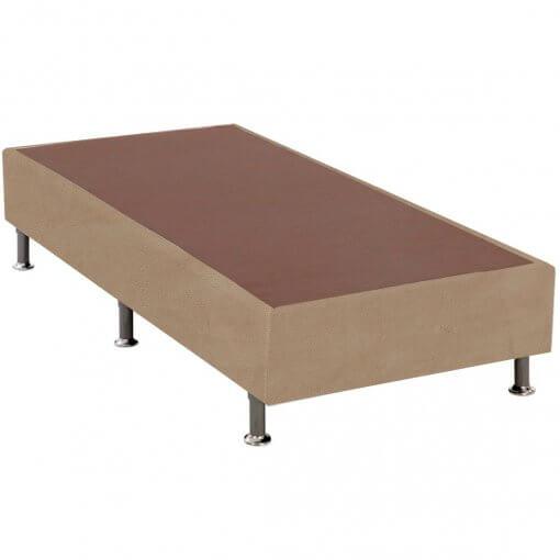base box solteiro marrom 25x88x188
