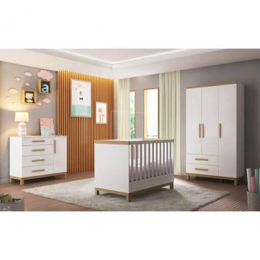 kit quarto infantil louis peroba moveis