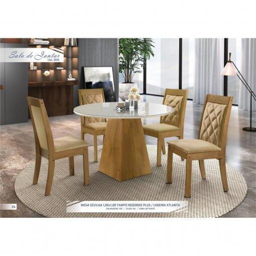 Mesa 4 Cadeiras Sevilha
