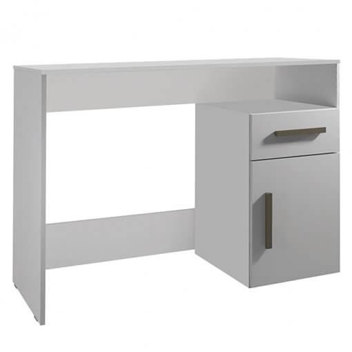 Mesa para Notebook com Gavetas Isabele branca