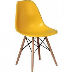 Cadeira Charles 1102 Amarela