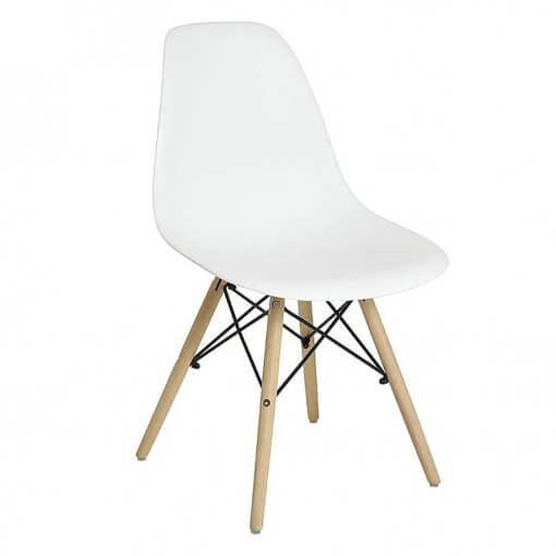 Cadeira Charles 1102 Branca